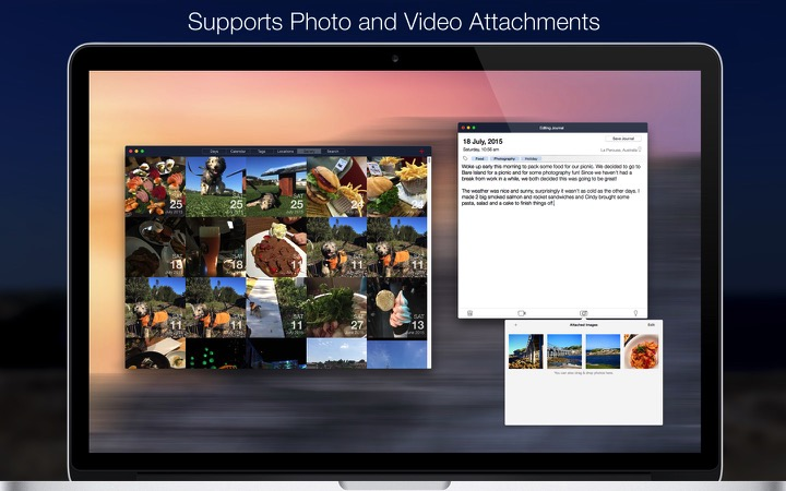 Video and Photo Attachments